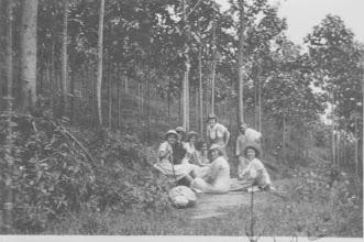 Photo: in de bossen van Pengalengan