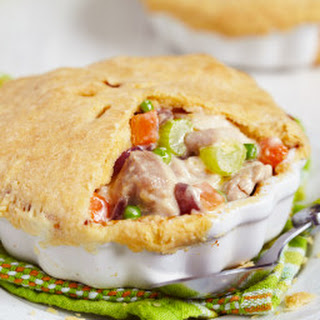 Leftover Turkey Pot Pie.