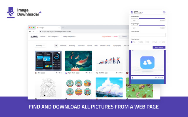 Image Downloader Plus