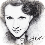 Pencil Sketch Photo Editor Icon