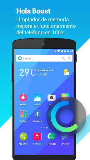 Hola Launcher-Simple,Fast 3.1.0 screenshots 4