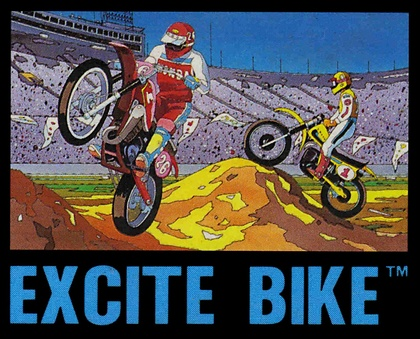 Excitebike (Cover Art)