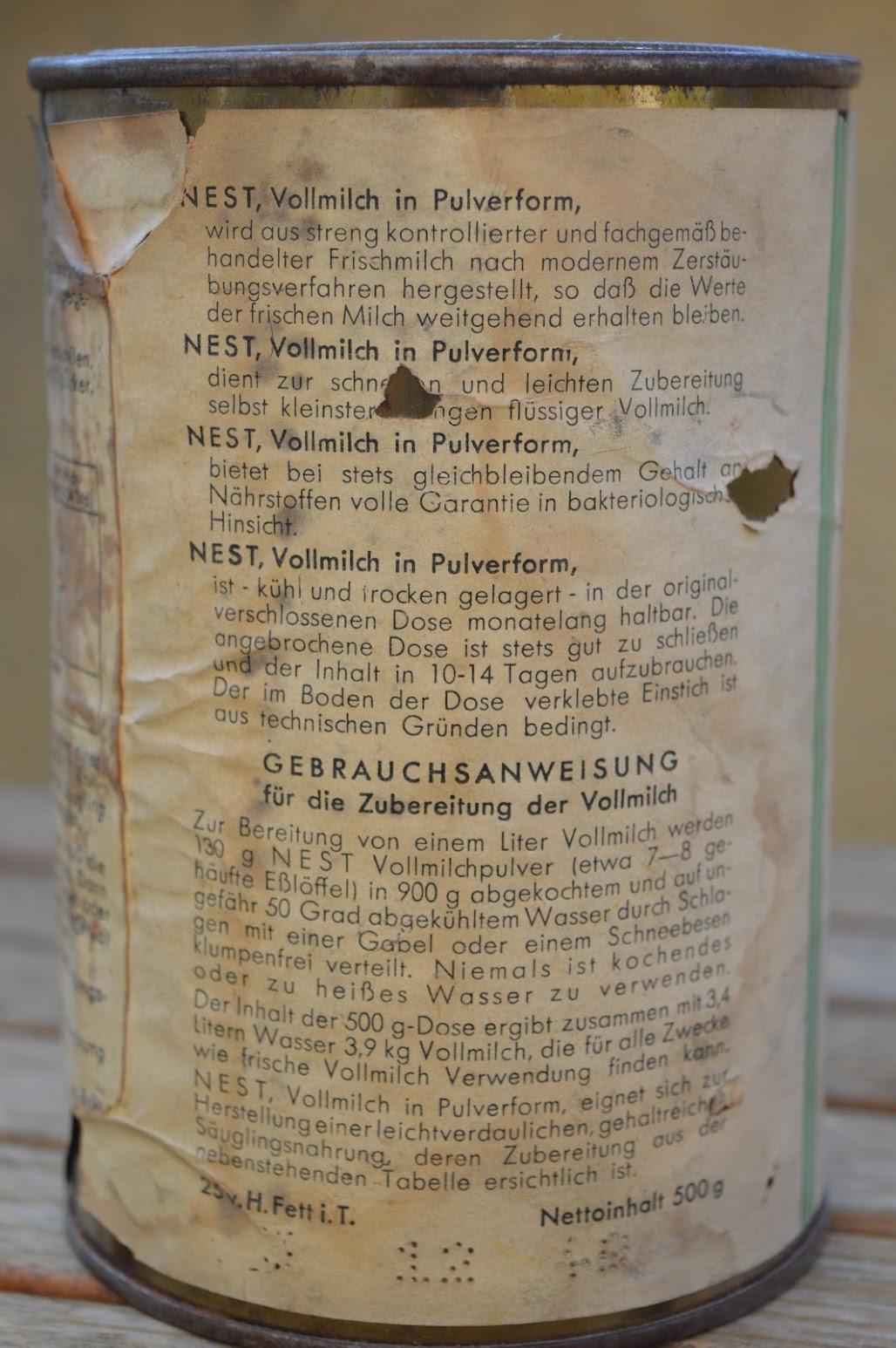 Nestlé Vollmilch-Pulver