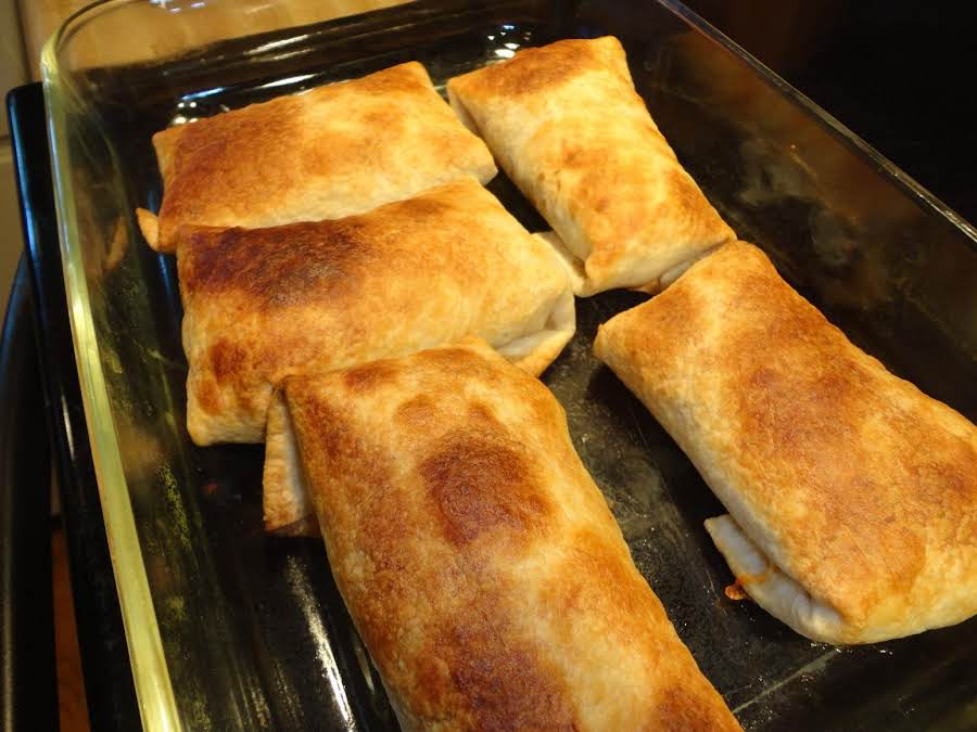 Easy Chicken Chimichangas Recipe Just A Pinch Recipes