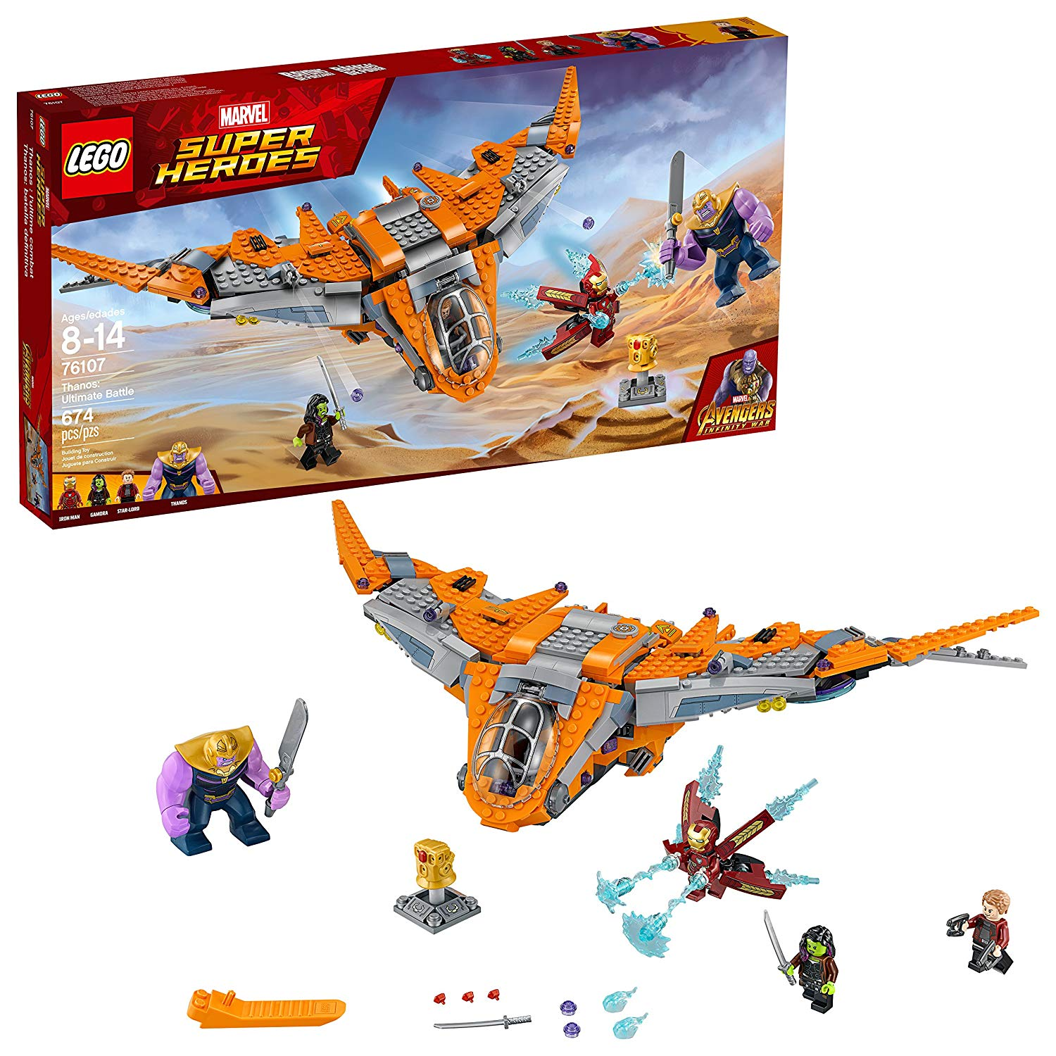 lego super heroes kinetic game