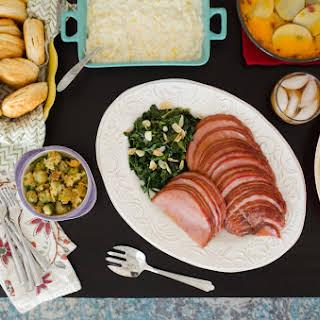 Maple Glazed Ham.