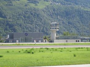 Photo: The tower in Sion http://www.swiss-flight.net