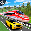Simulateur de voiture vs train Real Racing