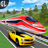 Car vs  Train Real Racing Simulator