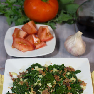 Sauteed Kale Tossed With Bacon