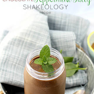 Creamy Chocolate Peppermint Shakeology.