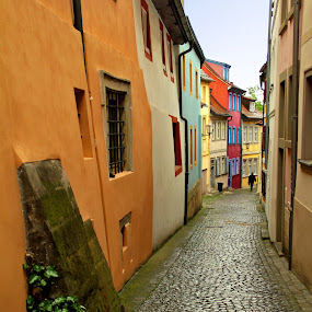 Bamberg by Oleksii Liebiediev - City,  Street & Park  Historic Districts ( history, europe, bavaria, bamberg, street, germany, district, city,  )