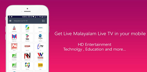 Malayalam Live TV - HD | Watch live tv online - Apps on