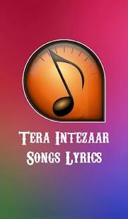 Tera Intezaar Songs Lyrics - náhled
