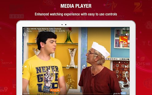 JioTV - Live TV & Catch-Up Screenshot