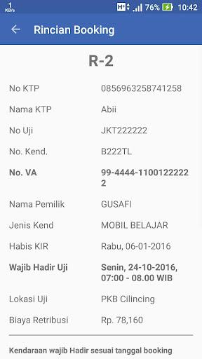 eKIR Jakarta - Booking  screenshots 7