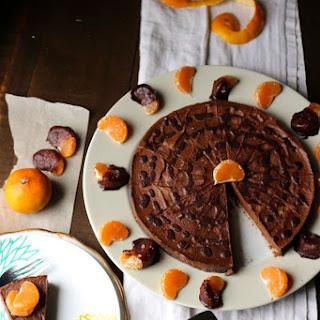 Dark Chocolate Orange Raw Cheesecake