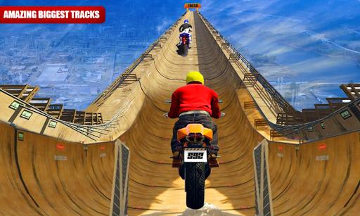 Impossible Moto Bike Stunt Racing Tracks
