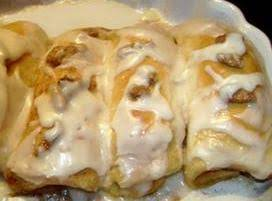Quick And Easy Cinnamon Rolls.