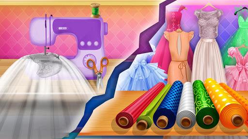Wedding Dress Tailor Shop: Design Bridal Clothes 1.0.6 screenshots 7