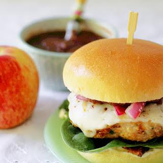 Pork Apple Burgers.