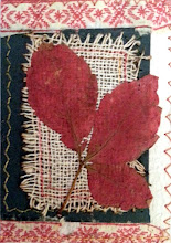 Photo: Feuilles d'automne_2015 ATC - Art Trading Card