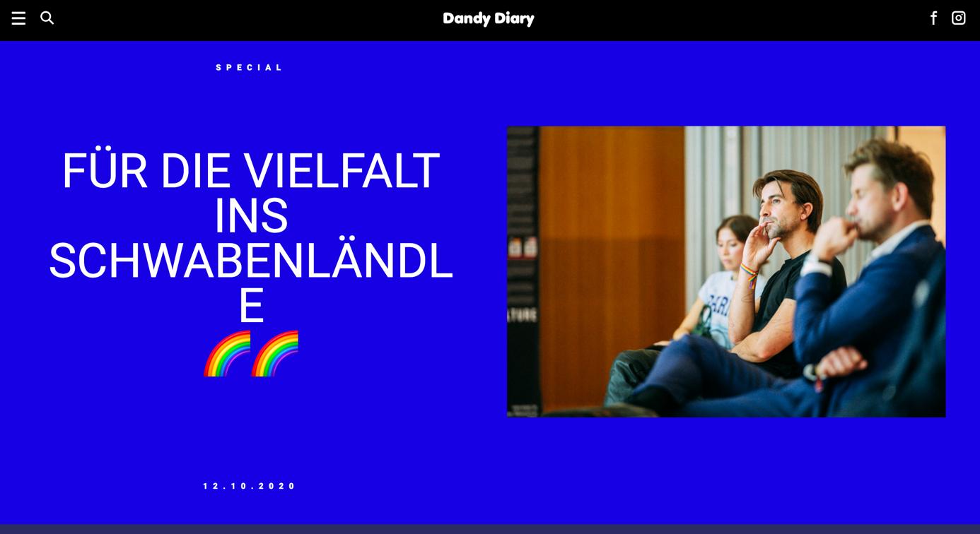 blog design von dandydairy