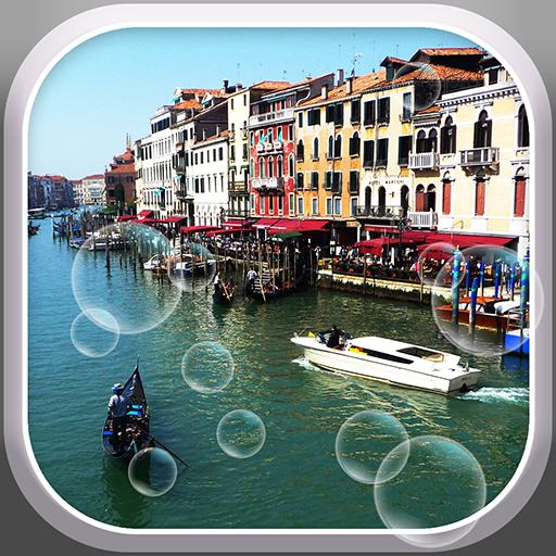 Rainy Venice Live Wallpaper