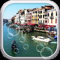 Rainy Venice Live Wallpaper icon