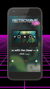 Retrowave Radio - náhled