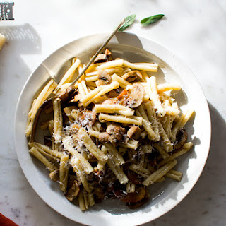 BROWN BUTTER SAGE AND MUSHROOM PASTA