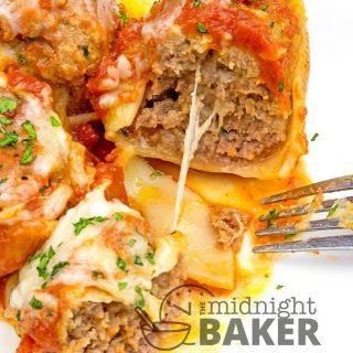 Meat Stuffed Pasta Shells Ground Beef Recipes.