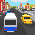 Bus Blocky icon