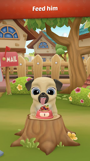 My Virtual Pet Dog ud83dudc3e Louie the Pug apkpoly screenshots 5