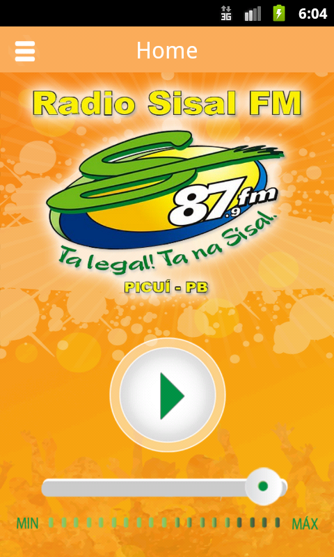 Rádio Sisal FM- screenshot