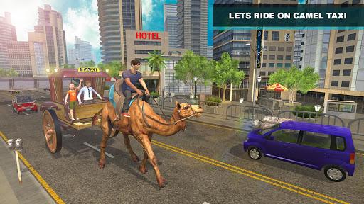 Camel Taxi Driver - OffRoad Passenger Transport 1.0 screenshots 1