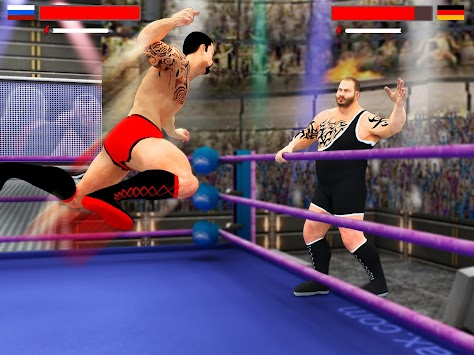 Stars Wrestling Revolution 2017: Real Punch Boxing apk screenshot