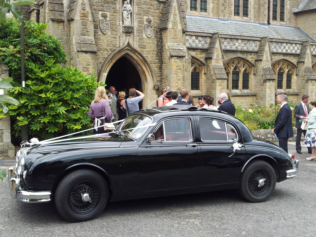 Jaguar Mk1 Saloon Hire Ashington