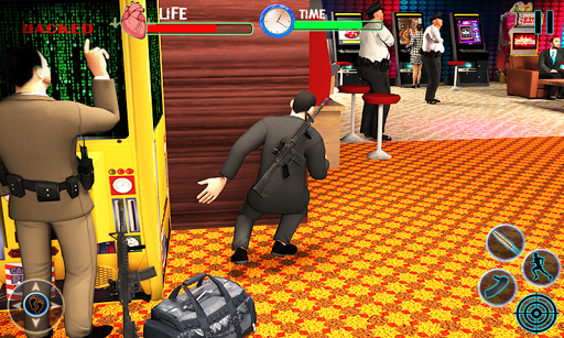 Grand vol de casino vegas heist jeux de tir  captures d'écran 2