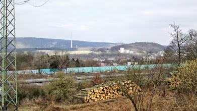 Photo: Der Kaisberg von oberhalb des BAB1-Rastpaltzes Funckenhausen aus betrachtet.