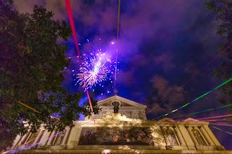 Photo: Fireworks in Prati, Rome, Italy