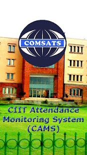 COMSATS Attendance - CAMS- screenshot thumbnail