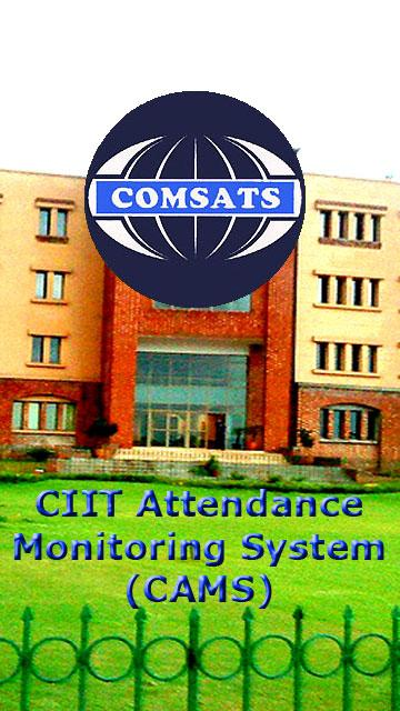 COMSATS Attendance - CAMS- screenshot