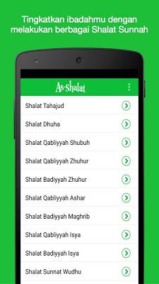 Ashalat : Shalat Sunnah - screenshot