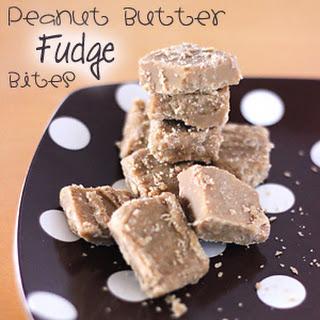 Peanut Butter Fudge Bites