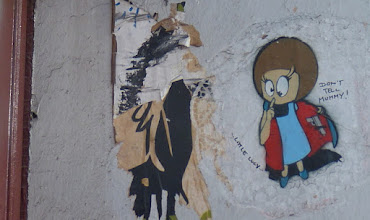 """Photo: Paste Up;  EL BOCHO, Little Lucy """"Don't Tell Mummy"""""""