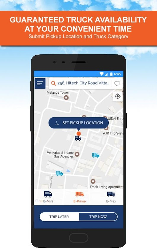 eWeels :  Online Truck Booking - Android Apps on Google Play