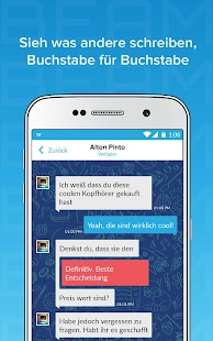 Beam Messenger: Texts Echtzeit Screenshot