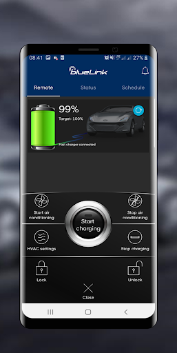 Hyundai Bluelink Europe screenshots 1
