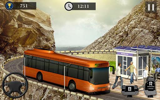 Uphill Off Road Bus Driving Simulator - Bus Games 1.14 screenshots 3